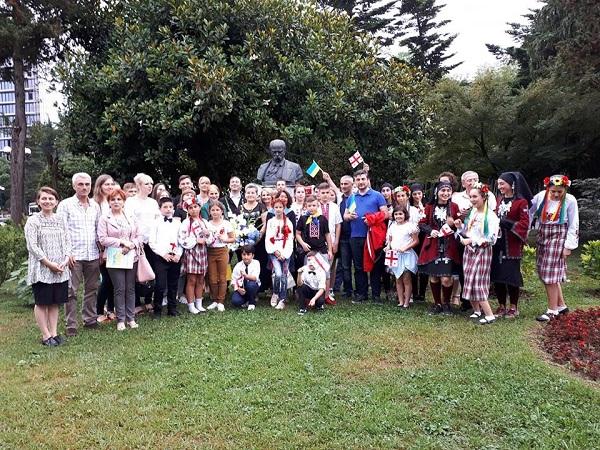 Діти учасників АТО відпочили у Грузії, фото-1