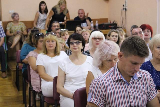 Володимир Миколаєнко взяв участь у щорічній конференції педагогічних працівників