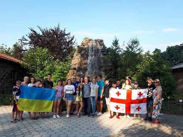 Діти учасників АТО відпочили у Грузії, фото-2