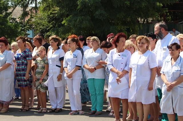 У трех херсонских поликлиник появились новые машины «Медицинской помощи»
