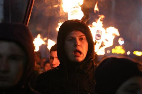 У Херсоні відбувся традиційний марш на честь Дня Героїв Крут