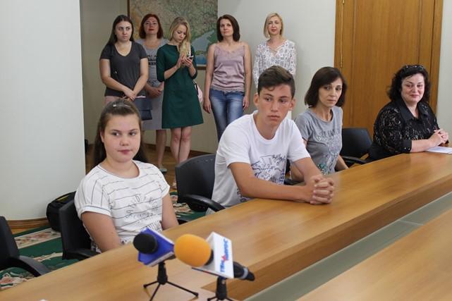 Херсонских детей волонтеров и участников АТО отправят в Грузию