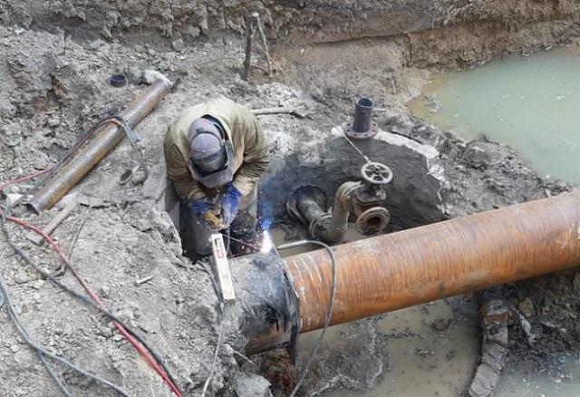 Херсонводоканал замінив ділянку водогону у Дніпровському районі