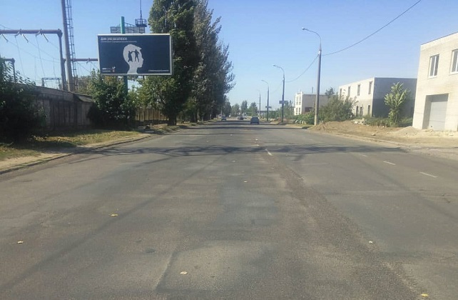 В Херсоне дорожники латают Бериславское шоссе