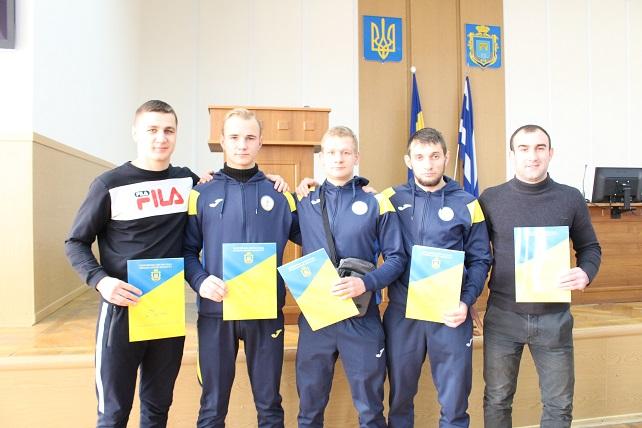 Відзнаками міського голови нагородили спортсменів та тренерів ХРЦ «Інваспорт»